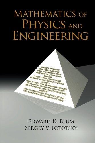 Mathematics Of Physics And Engineering por Edward K Blum