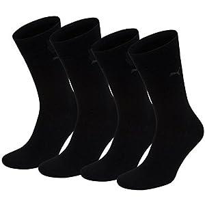 PUMA Herren Classic Casual Business Socken 8er Pack = 8 Paar (mt) (39/42, Black)