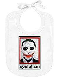 Jimmy Apparel Barack Obama Der Stern - Barack Obama The Star Organic Baby Bib with Ties 100% Soft Cotton Baby Clothing