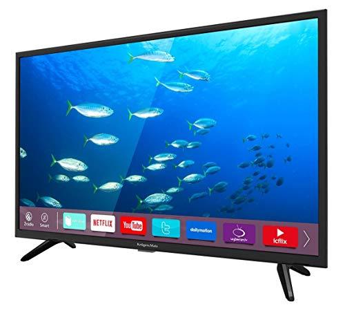 Krüger&Matz KM0232-S 81,28 cm (32 Zoll) Fernseher (HD, DVB-T2/S2, Smart TV) Schwarz