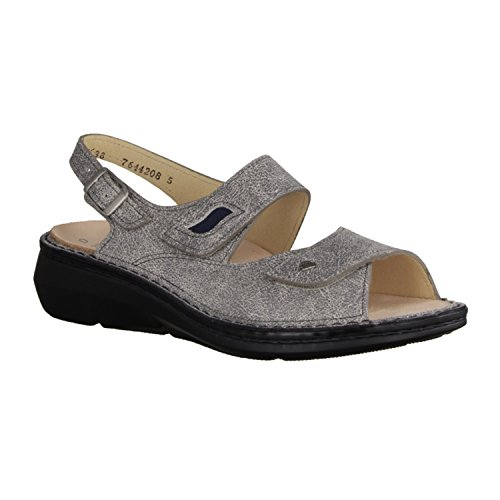 Finn Comfort Sandales Pour Femme Mud/Atlantic