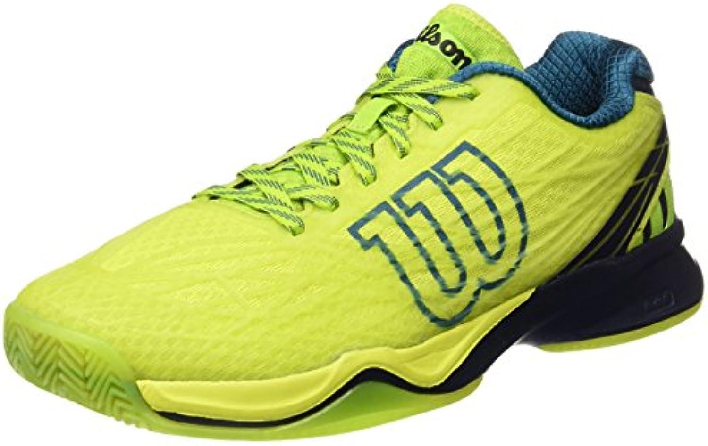 Wilson Herren Wrs323470e110 Tennisschuhe  Grün (Lime Punch/Navy Blazer/Blue Coral)  46 EU