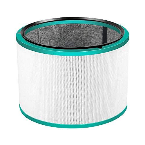 AIflyMi Filtre de Rechange pour purificateur d'air Dyson HP00 01 02 03 DP01 03 Filtre à Cartouche HEPA de Remplacement pour Aspirateur de Cendres