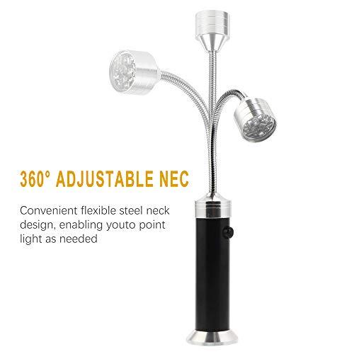 41p5PPaaEBL - Vegena LED Grill Licht [2 Stück], Magnetische Grill BBQ Licht Set Flexibel Grill Lampen Outdoor Grill Lichter Grillen Zubehör Schwarz