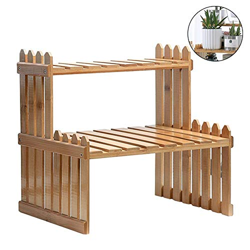 Pflanzenregale Flower Garden Rack, Stand Flower Display, Stand Bambus Display, Stand Bamboo Regal Stand Inhaber Lagerung