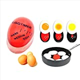 Generic 1pcs Egg timer Egg Perfect Color Changing Timer Yummy Soft Hard Boiled Eggs Cooking Kitchen Silica Egg Heat Reminder best price on Amazon @ Rs. 649