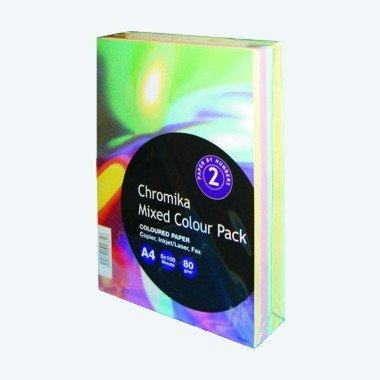 Preisvergleich Produktbild Kopierpapier A4 80g p' 5-farbig 500Bl.