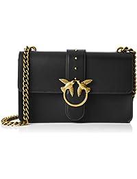 Pinko Women s Love Simply 10 Tracolla Vitello Seta+borchiette Shoulder Bag b2974f7974c
