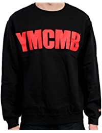 YMCMB - YMCMB - Sweat-shirt Noir logo Rouge - Homme