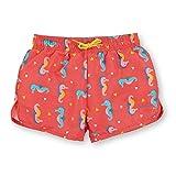 Sterntaler Kinder Mädchen Badeshort, UV-Schutz 50+, Alter: 4-6 Jahren, Größe: 110/116, Korallrot