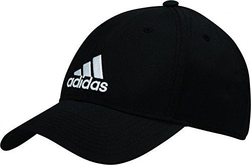 Adidas 6pcap ltwgt Emb Berretto da Tennis, uomo, UOMO, 6Pcap Ltwgt Emb, negro (negro / negro / blanco), OSFW