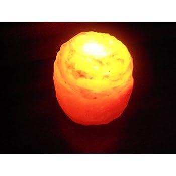 HIMALAYAN SALT LAMP TEA LIGHT CANDLE HOLDER: Amazon.co.uk: Kitchen ...