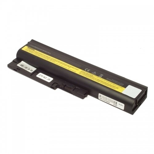 , Li-Ion, 10,8/11,1 V, 5200 mAh, Batterie pour Lenovo Thinkpad R61i 7647 (Noir)