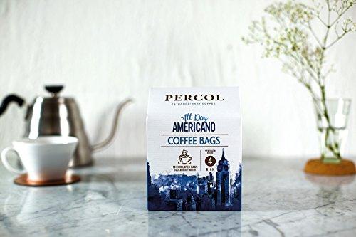 Percol Rainforest All Day Americano Coffee Bags Rich