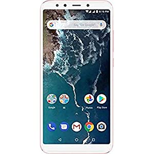 """Xiaomi Mi A2 - Smartphone 5.99"""" (memory 64 GB, Dual chamber 12+20 MP, Android One) Golden colour"""