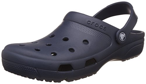 Crocs Coast, Mules Mixte Adulte, Bleu (Navy 410B), 37/38 EU