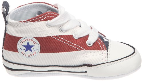 Converse First Star S&B 209640-12-4, Unisex - Kinder Sneaker Rot (Rouge/Blanc/Marine)