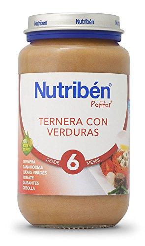 Nutriben Ternera con Verdura Potito Grandote 250g