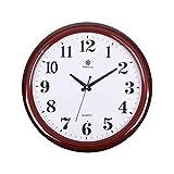Cxf cui Wanduhr Wohnzimmer Uhr Einfache Kreative Elektronische Quarzuhr Home Ruhig Büro Uhr Hängenden Tisch (Farbe : A)