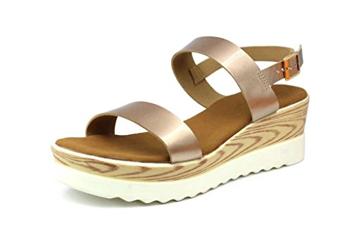 Inc.5 Women's Sultan Synthetic Sandals(5775) - 3 UK