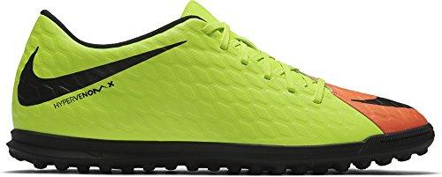 Nike Herren Hypervenomx Phade Iii Tf Fußballschuhe Mehrfarbig (Electric Green/black-hyper Orange-volt)