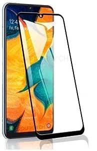 Magic Tempered Glass 6D/11D Black HD Quality 9H Edge to Edge High-Definition Screen Protector Anti-Fingerprint Gorilla Tempered Glass for Samsung Galaxy M31/M21/M30S/M30 (Black)