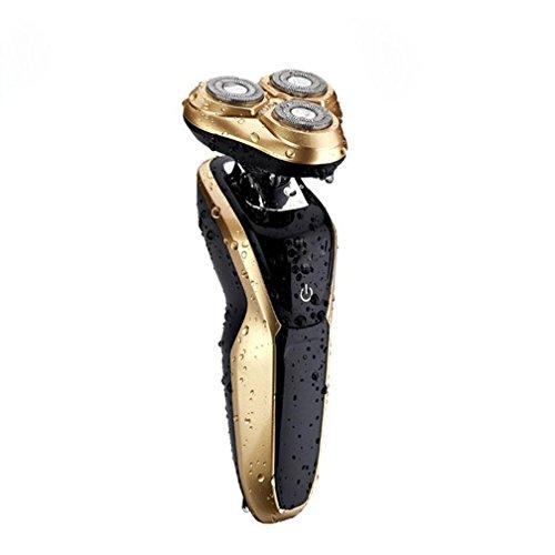 Preisvergleich Produktbild GX Elektrisches Rasiermesser, 4D Wasser Waschen Rasiermesser, Ladung Männlichen Bart Messer Rasiermesser , 1,1