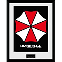 GB eye LTD, Resident Evil, Umbrella, Fotografia Enmarcada, 40 x 30 cm