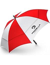 Procella Golf Regenschirm, Windfest, Premium Qualität, 157cm Groß, Sturmsicher, Automatik - Automatisch zu öffnen, Regen- und Windbeständig Golfschirme [Entworfen in Schweden]