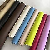 Stock di 10 Ritagli di Ecopelle Morbida in Colori Misti Dimensione C.CA 30 x 70 cm Ideale per lavoretti Homemade, Patchwork, Decorazioni