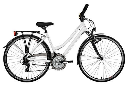 KS Cycling Damen Canterburry Fahrrad Weiß 48 cm