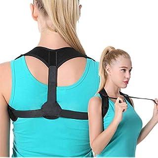 Ailiebhaus Adjustable Back Support Back Bandage Straight Holder Posture Corrective Back for Men and Women