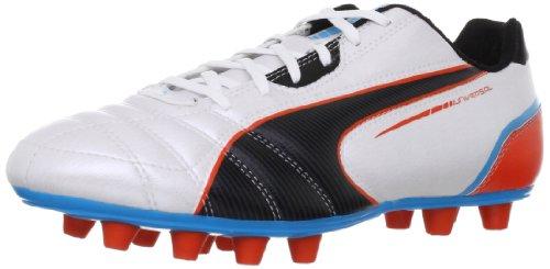 Fußball-rasen-schuhe-größe 11 (Puma Universal FG 102697, Herren Fußballschuhe, Weiß (metallic white-black-hawa 03), EU 44.5 (UK 10) (US 11))