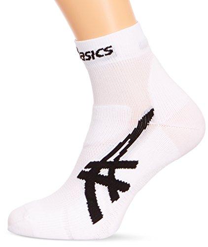 Asics Cumulus Socke L Weiß - Real White (Running Socken Asics)