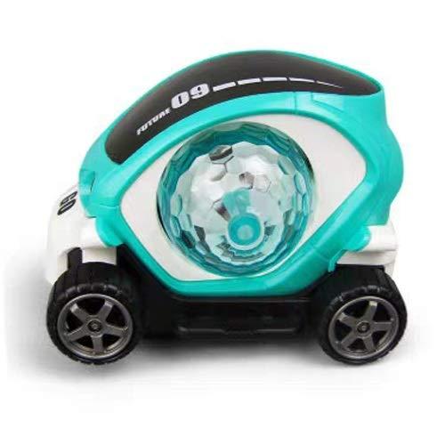 MEILA Play More 3D-Licht Spielzeugauto Modell Elektro Universal Rotation Bunte Musik Junge Mädchen Kinder Eltern-Kind-Entertainment-Tools
