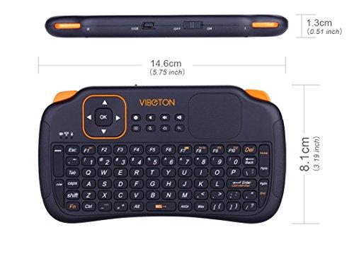 VIIVRIA 2015 neue Ankunfts-83keys 2,4 GHz Tragbare Ultra Mini Wireless Keyboard-Bestseller Tastaturen