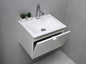 Arredo bagno mobile bagno da cm 50 con lavabo lavandino in for Amazon arredo bagno