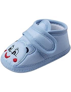 DRESS_start Zapatos Para Bebé Zapatos Para Unisex-Bebé Primeros Pasos Antideslizante Suela Blanda,Zapatos de Dibujos...