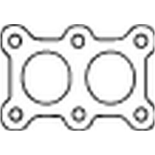Bosal 256-126 Bague d'étanchéité, tuyau d'échappement