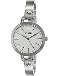 Fossil Analog Silver Dial Women's Watch - BQ3025