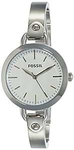 Fossil Analog Silver Dial Women's Watch-BQ3025