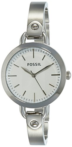 Fossil Analog Silver Dial Women's Watch-BQ3025