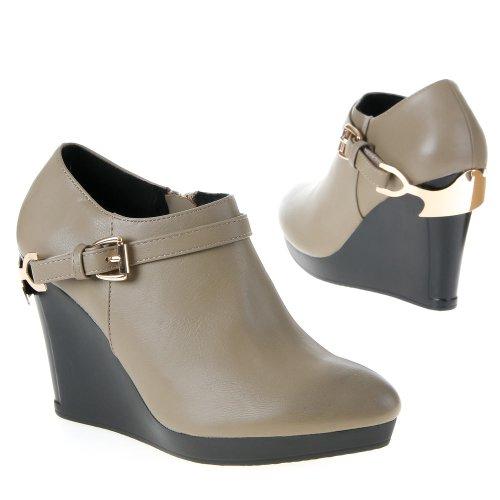 Damen Schuhe, HP8589, STIEFELETTEN Beige