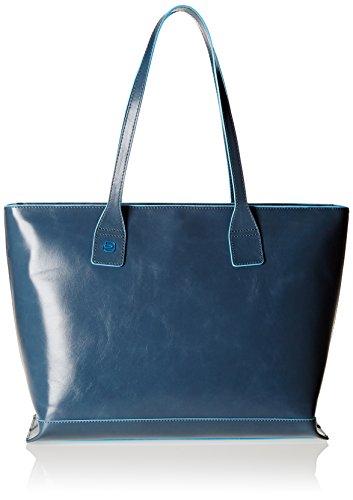 bbc130df1b419 Piquadro Blue Square borsa tote pelle 35 cm – TravelKit