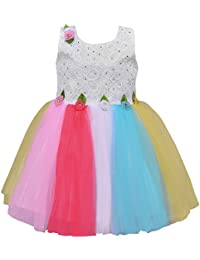 Wish Karo Baby Girls Frock Birthday Dress for Girls - Net - (fe2637)