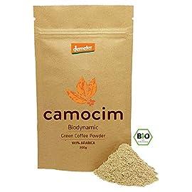 Organic Green Coffee Powder | Single-Origin Camocim Organic Farm, Brazil | 100% Arabica Green Coffee Beans Grounded