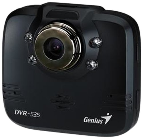 Genius DVR-535 - Dashcams (1280 x 720 Pixel, 120°, CMOS, 30 fps, AVI, 6,1 cm (2.4 Zoll)) 120 Fps Dvr