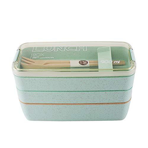 Grün-sofa-satz (Homiki Hauptprodukt 900ml 3 Sofas Lunchbox Lunchbox grün 1 Satz)