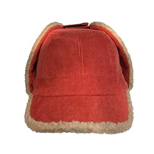 Nosterappou Les étudiantes en plein air en hiver gardent au chaud leur chapeau protecteur sauvage, un chapeau de personnalité simple et élégant, un chapeau de personnalité simple et élégant, un chapea