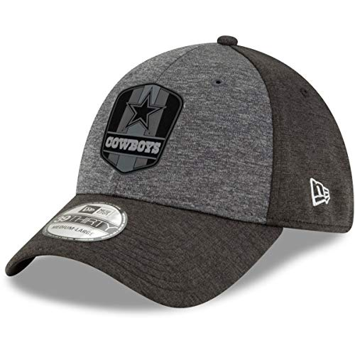 New Era 39Thirty Cap NFL Black Sideline Dallas Cowboys - M/L